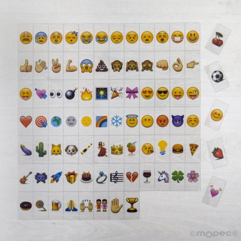 Set di emoji 85u. per scatola luminosa