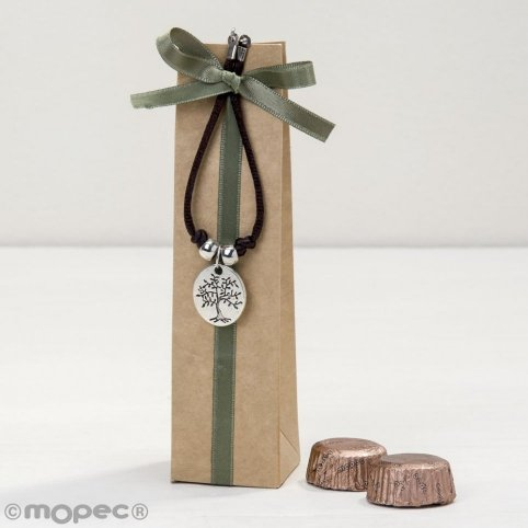 Bracelet with tree/life medal is a gift with 2 torinos