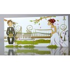 Romantische Hochzeitseinladung Cardnovel 34937 geschlossen