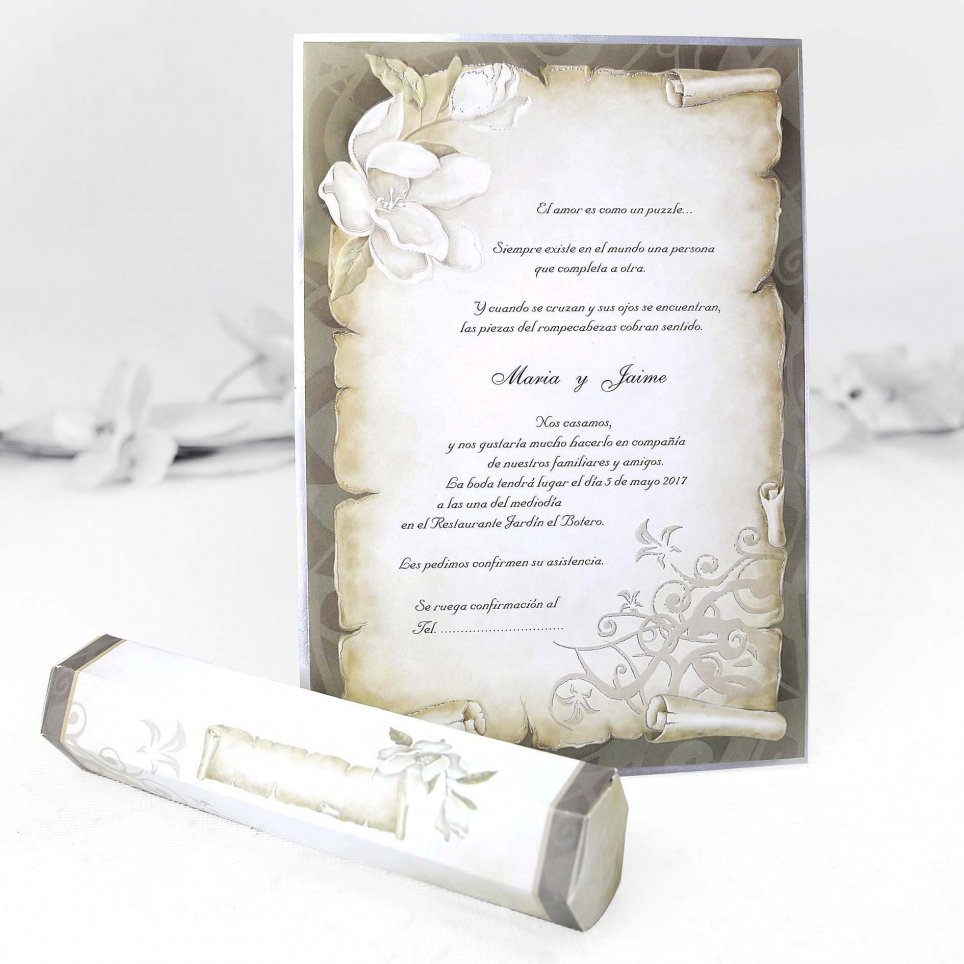 30109 Cardnovel Wedding Invitation
