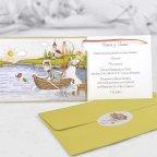 Hochzeitseinladungsfischen zum Bräutigam Cardnovel 32405