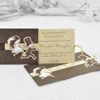 Wedding invitation I catch you Cardnovel 32802 open