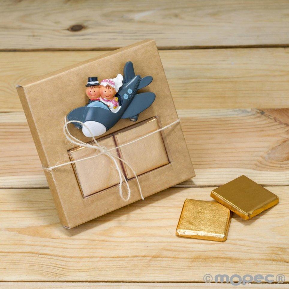 Magnete piano Pit & Pita + anello scatola kraft 2napolitanas