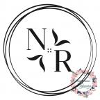 Timbro nuziale personalizzato con iniziali e cerchi