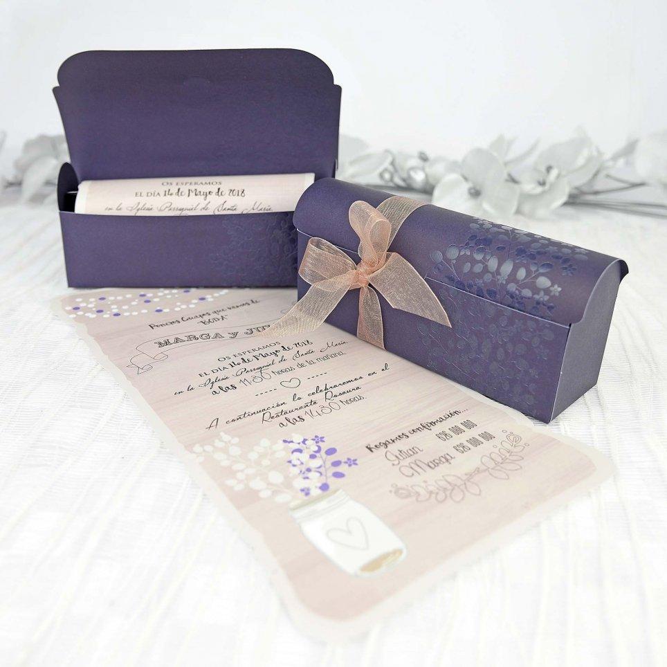 Hochzeitseinladungsbox, Cardnovel 39237