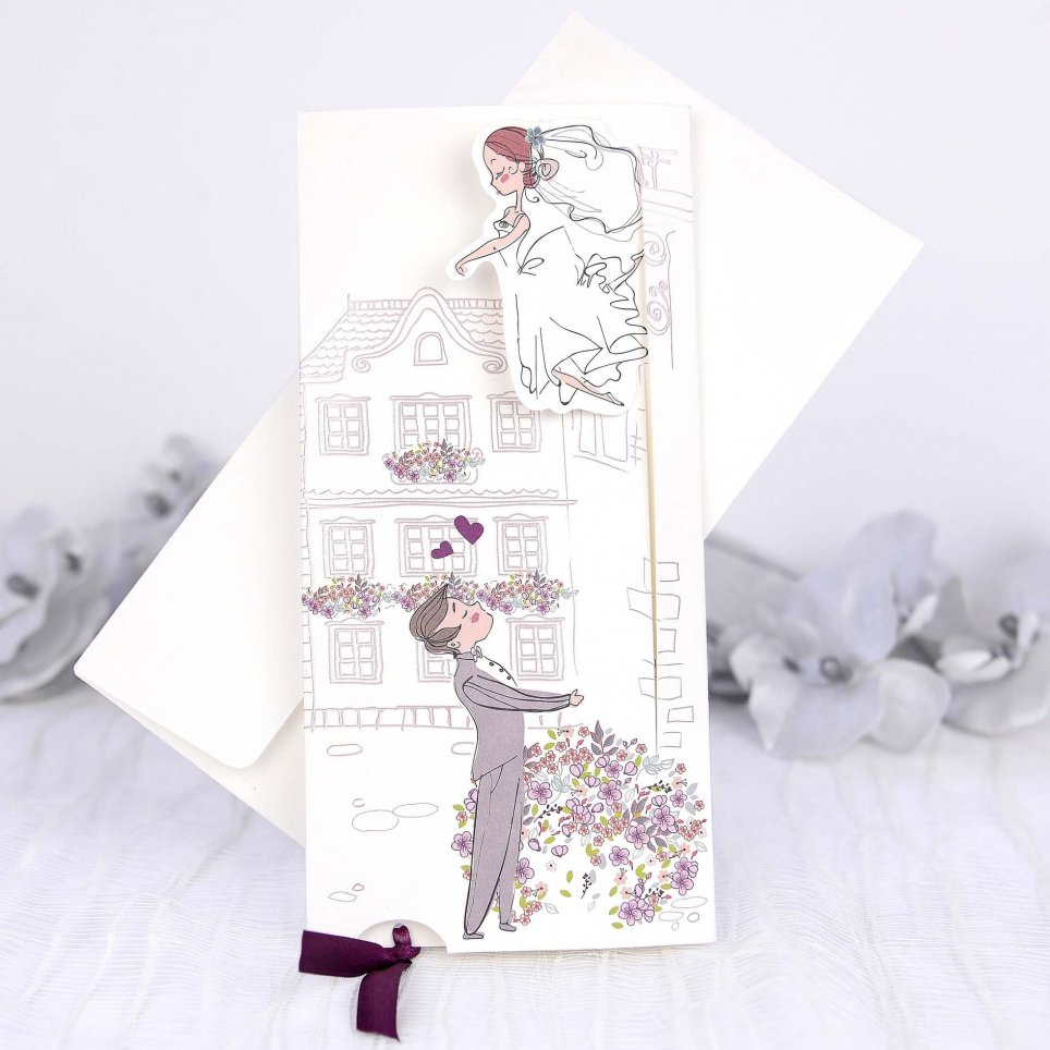 Wedding Invitation in My Arms, Cardnovel 39230